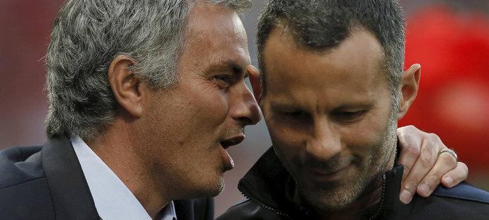 Manažer Manchesteru United José Mourinho se na tiskové konferenci nechal slyšet, že nemůže za to, že na Old Trafford nepokračuje Ryan Giggs.
