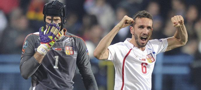 V baráži o EURO 2012 byl Čech zvolen dvakrát nejlepším hráčem