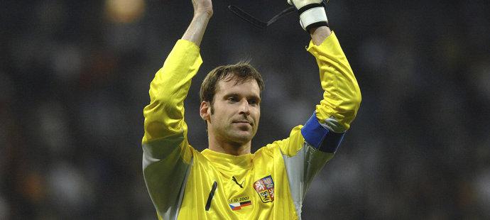 I díky výhře 3:0 v Německu postoupil Čech s reprezentací na EURO do Švýcarska a Rakouska