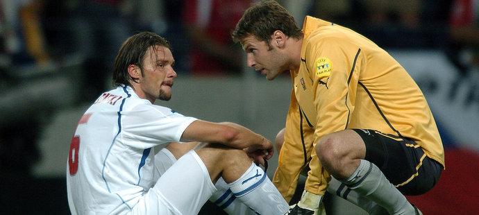 Petr Čech prožil pohádkovou jízdu na EURO 2004, kterou zastavili až Řekové v semifinále