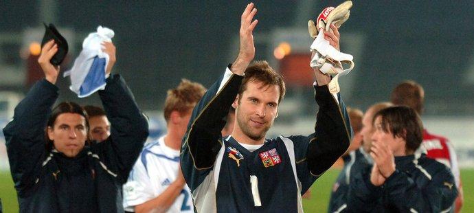 V roce 2005 Čech vychytal baráž a reprezentace postoupila na MS 2006 v Německu