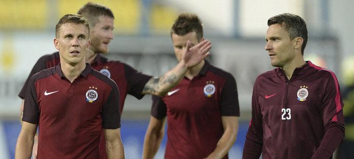 Zklamaní fotbalisté Sparty po remíze 0:0 v Teplicích