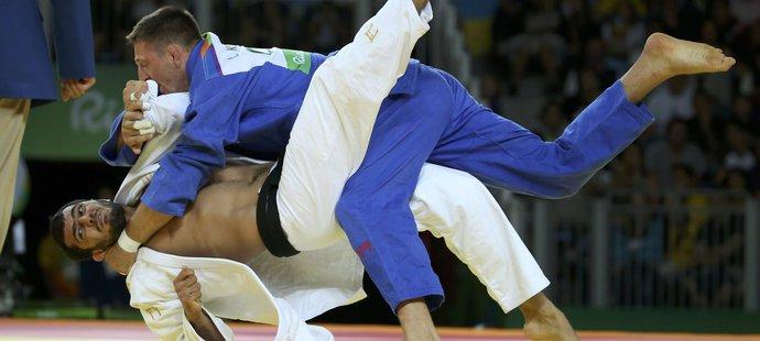 Lukáš Krpálek porazil ve finále Gasimova a vyhrál zlatou medaili na OH