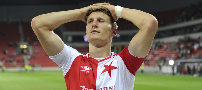 Kanonýr Slavie Milan Škoda góly nedává