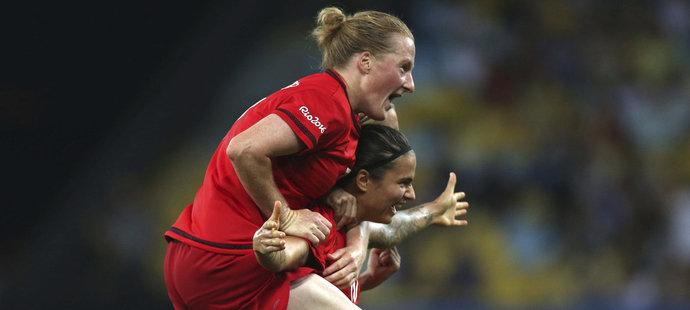 Německé fotbalistky ovládly olympijský turnaj, ve finále porazily Švédky
