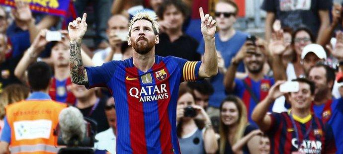 Diváci na Nou Campu byli z výkonu Messiho a spol. u vytržení