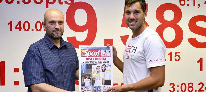 Josef Dostál vstoupil do Síně slávy deníku Sport