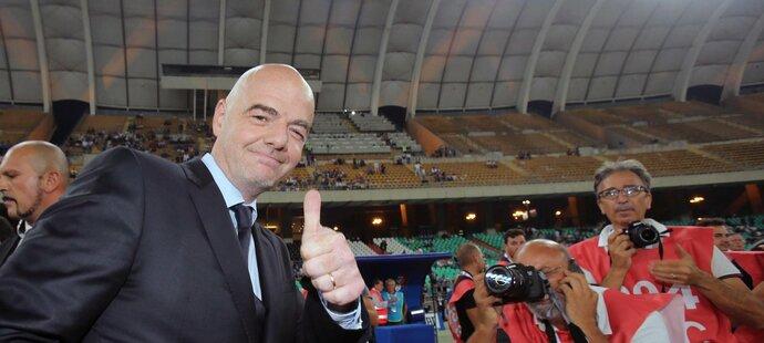 Gianni Infantino se nebojí reformy mistrovství světa