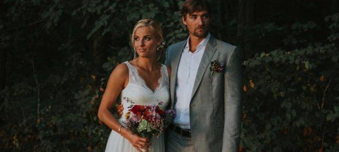 Volejbalistka Markéta Sluková si po sedmi letech vzala trenéra Siomona Nausche