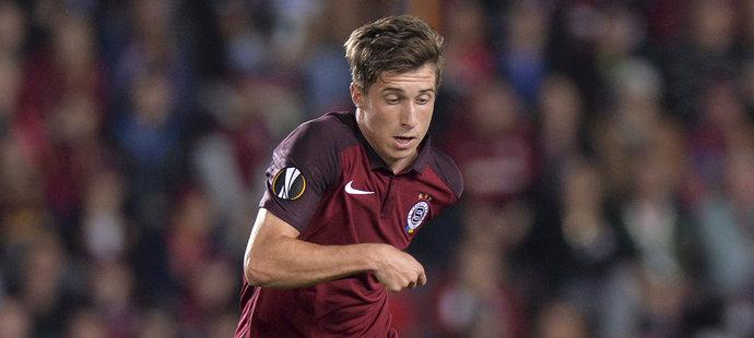 Michal Sáček se stal desátým zraněným hráčem Sparty