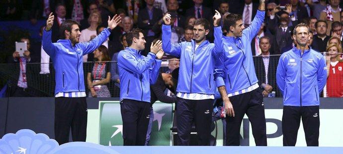 Argentina poprvé v historii slaví zisk Davisova poháru