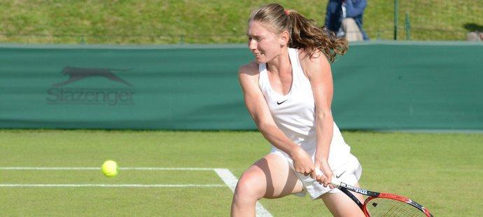 Jekatěrina Alexandrovová patří k velkým tenisovým nadějím