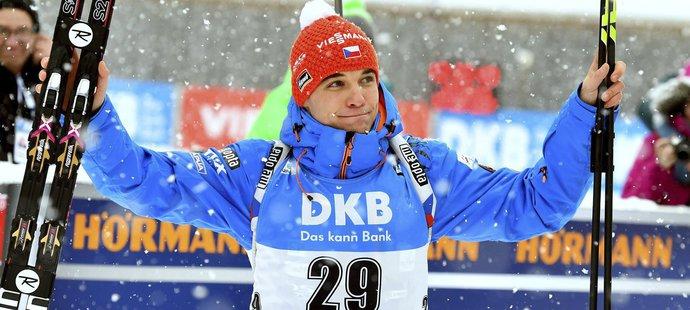 Michal Krčmář si jde pro svou první medaili v SP v životě