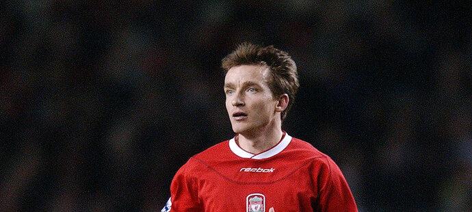 Vladimír Šmicer v dresu Liverpoolu