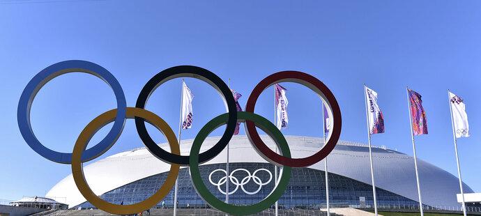 Olympijské kruhy - asi nejznámější symbol OH