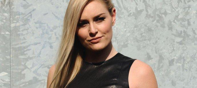 Sjezdařka Lindsey Vonnová zazářila v roli modelky na milánském týdnu módy.