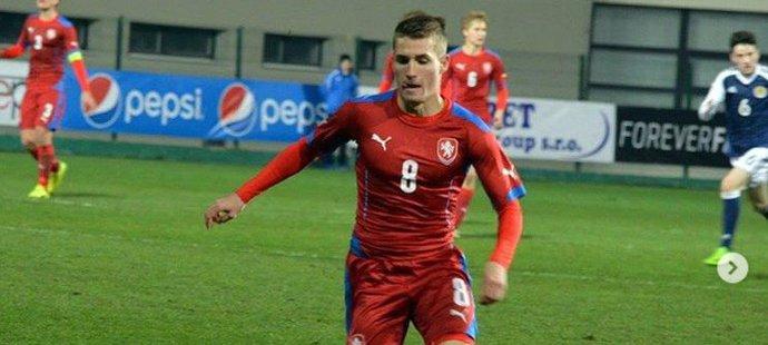 Michal Sadílek v reprezentačním dresu