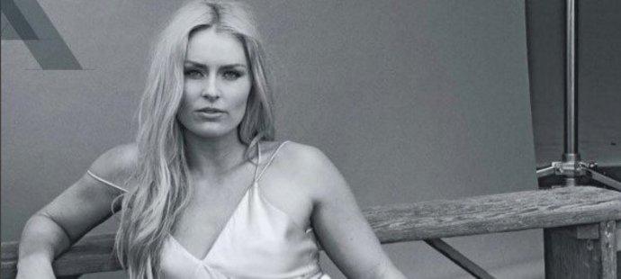 Lyžařka Lindsey Vonnová ráda zveřejňuje své sexy fotky.