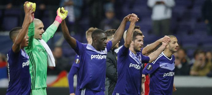 Belgický Anderlecht by mohl pomoci českým klubům v boji o přímý postup do Ligy mistrů