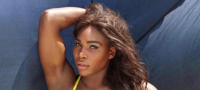 Serena a její nejnovější přírůstek na sociální sítě. Na své tělo je hrdá