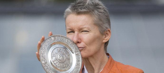 Jana Novotná byla na své trofeje velmi pyšná