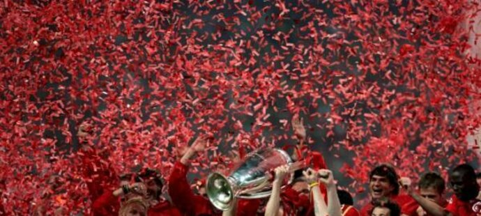 Liverpool se radoval z titulu i v roce 2005
