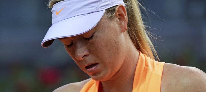 Maria Šarapovová nemá mezi hráčkami moc zastání