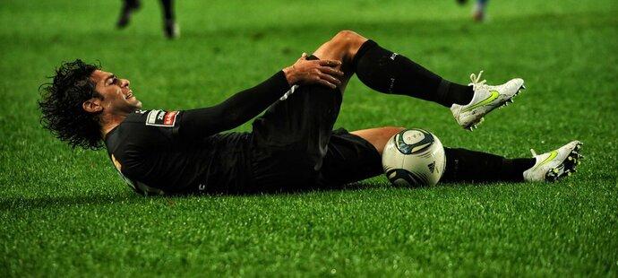 Zranění při fotbale (ilustrační foto)