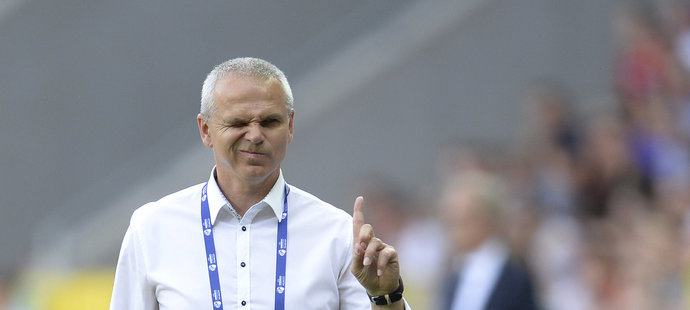 Vítězslav Lavička mohl být po zápase s Itálií spokojen