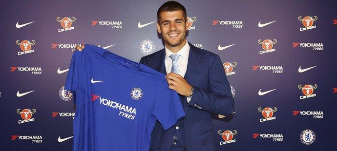 Álvaro Morata po přestupu do Chelsea