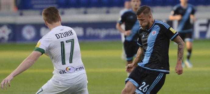 Jakub Mareš vstřelil v prvním kole slovenské ligy tři góly