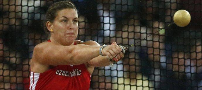 Česká kladivářka Kateřina Šafránková obsadila ve finálovém závodě na MS v Londýně osmé místo