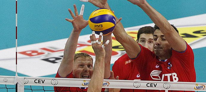 Rusové ovládli mistrovství Evropy! Po velké bitvě udolali Němce 3:2 na sety
