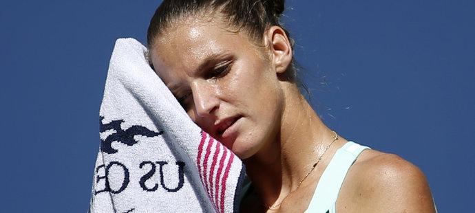 Konec! Plíšková padla na US Open ve čtvrtfinále, přijde o post jedničky