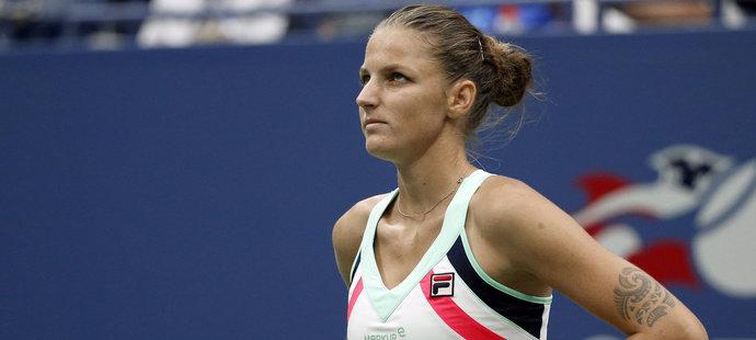 Karolína Plíšková byla po utkání hodně zklamaná