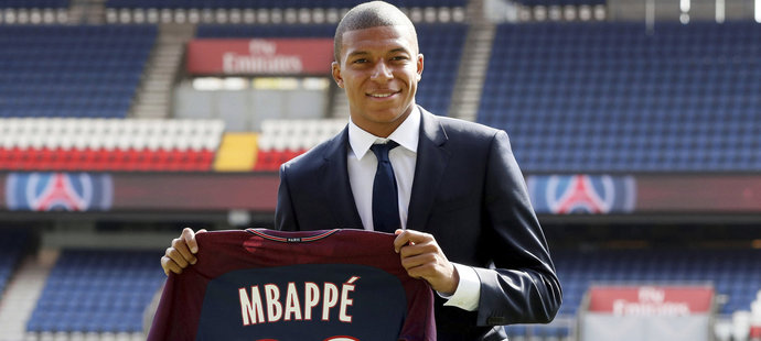Kylian Mbappé poprvé jako hráč PSG