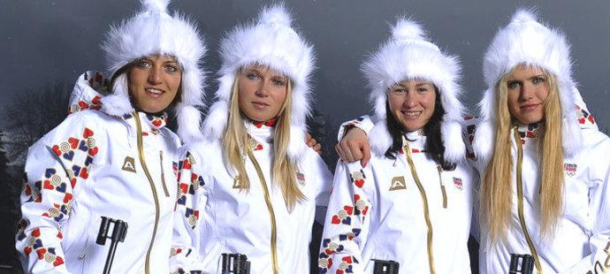 Jitka Landová, Eva Puskarčíková, Veronika Vítková, Gabriela Soukalová - dodatečně bronzová štafeta z olympiády v Soči