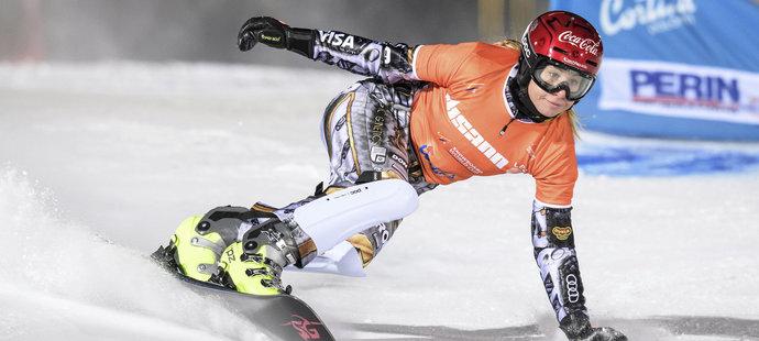 Nezastavitelná Ester! Ledecká ovládla i čtvrtý obří slalom na snowboardu