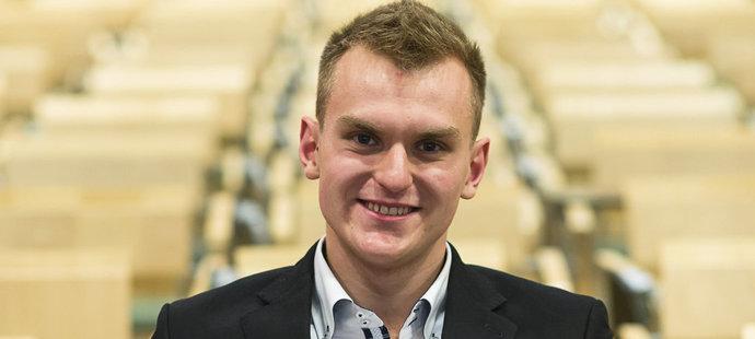 Marek Grycz byl vyhlášen nejlepším českým moderním pětibojařem roku 2017