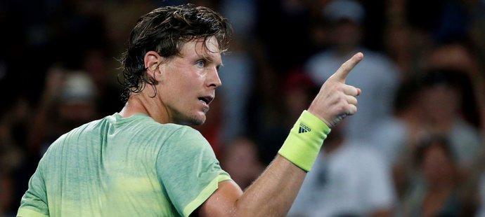 Rozjetý Berdych si vychutnal potlesk: Vyhrát na Australian Open? Proč ne!