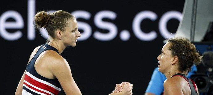 Karolína Plíšková zdolala v osmifinále Australian Open Barboru Strýcovou ve třech setech