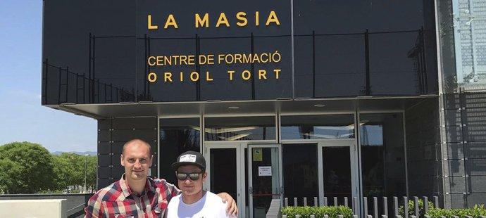 Díky kontaktům se Libor Volf dostal i do věhlasné akademie Barcelony