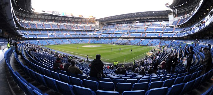 Stadion Realu Madrid Santiago Bernabéu