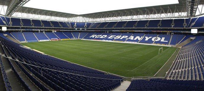 Stadion Espaňolu Barcelona - RCD