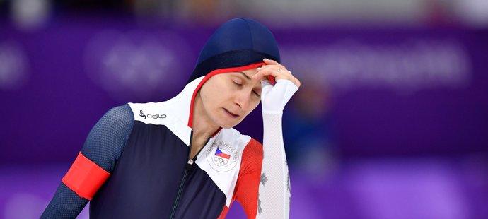 Velká škoda! Martina Sáblíková dojela na trojce čtvrtá, na bronz jí chybělo 52 setin sekundy