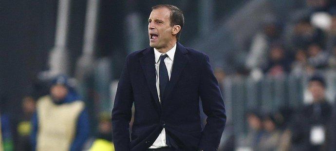 Massimo Allegri po remíze s Tottenhamem krotil vášně fanoušků Juventusu