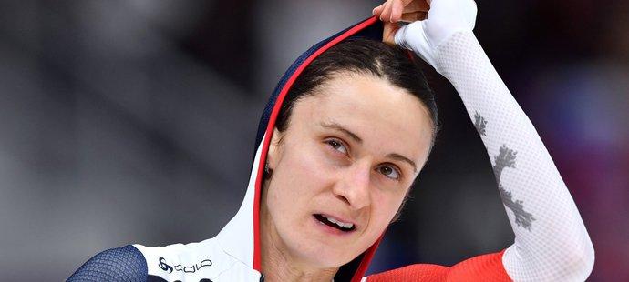 Martina Sáblíková se bála, že odjede bez medaile - bere stříbro
