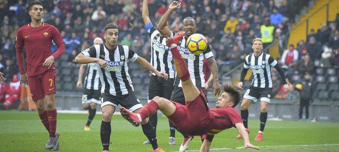 Fotbalisté Udine nestačili na vlastním hřišti na AS Řím