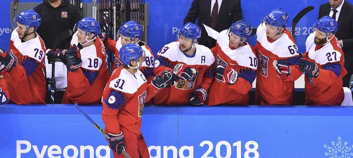 Kapitán Martin Erat byl na ledě u úvodního gólu zápasu