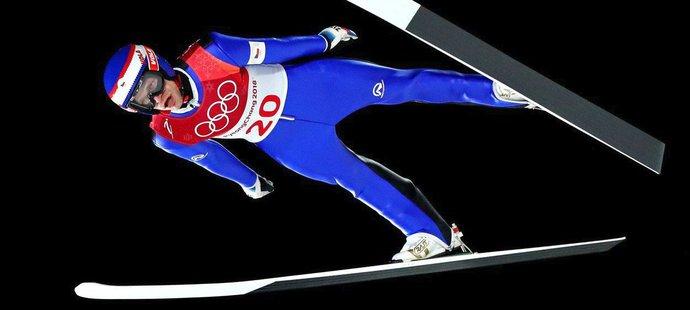 Roman Koudelka se ani na olympiádě v Pchjongčchangu výsledkově nezvedl